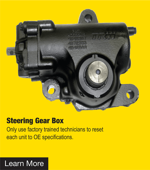 Remanufactured Power-Steering Gears New Pumps