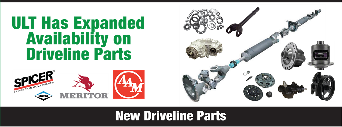 New Driveline Parts