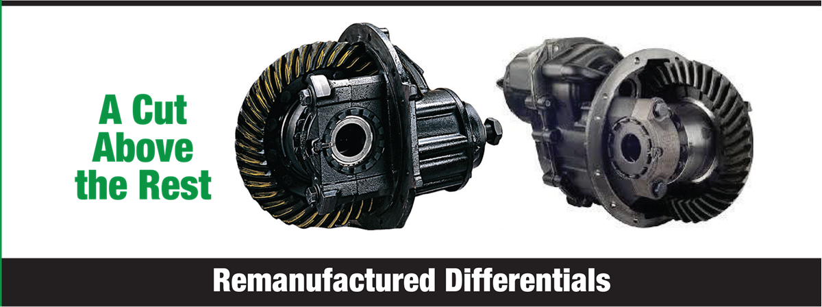 Remanufactured Differentials