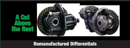 Remanufactured Differentials